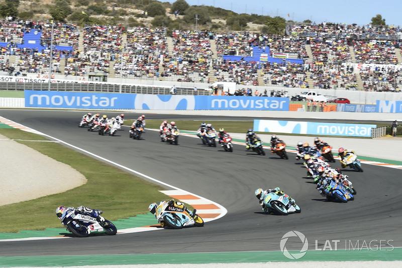 Arrancada Jorge Martin, Del Conca Gresini Racing Moto3 líder