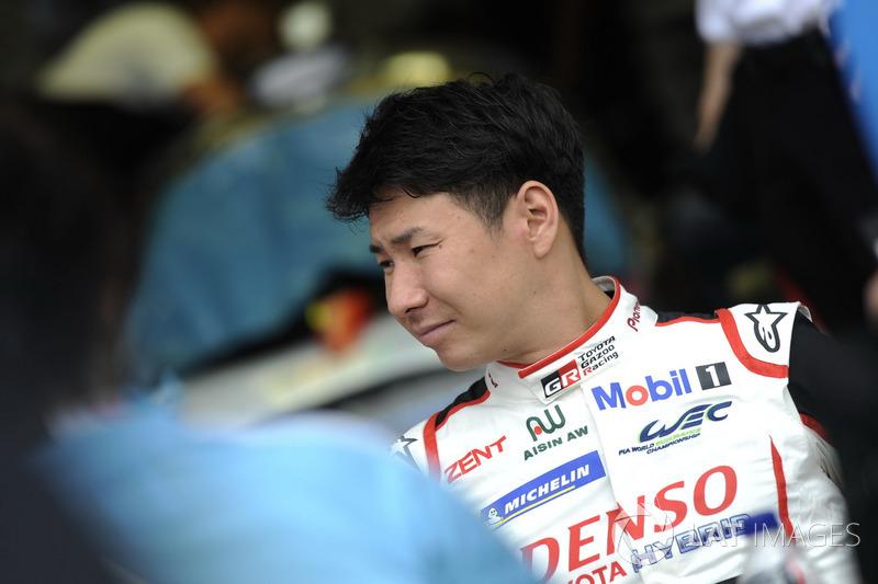 #7 Toyota Gazoo Racing Toyota TS050:Kamui Kobayashi