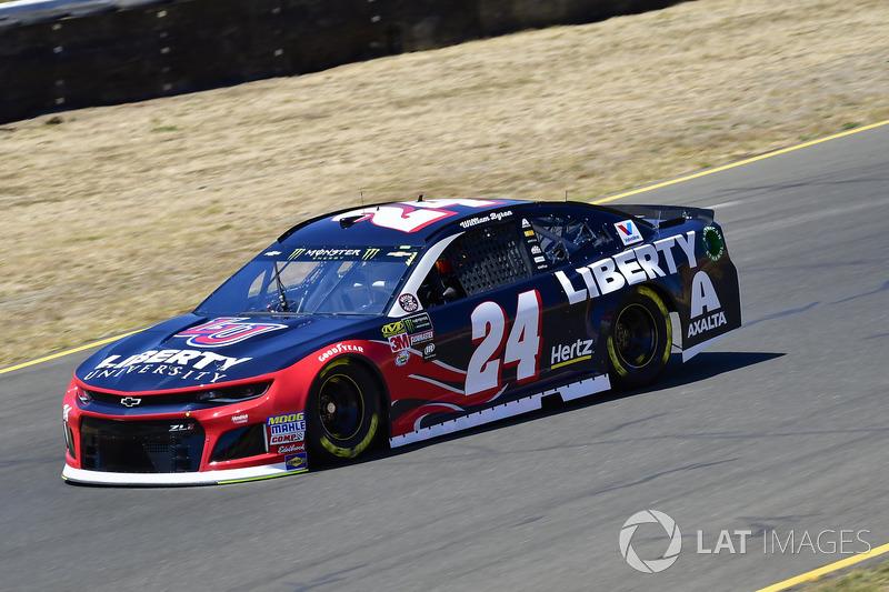 8. William Byron, Hendrick Motorsports, Chevrolet Camaro Liberty University