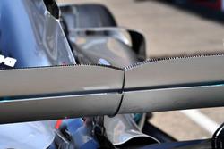 Aileron arrière de la Mercedes-AMG F1 W09