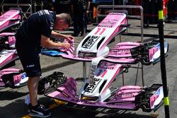 Avant de la Force India VJM11