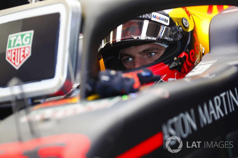 Max Verstappen, Red Bull Racing, in cockpit