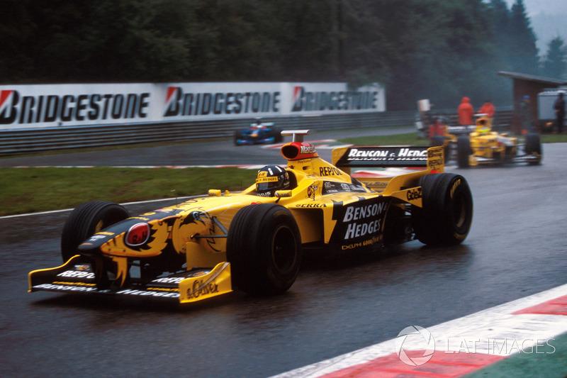 Damon Hill, Jordan 198 ve Ralf Schumacher, Jordan 198