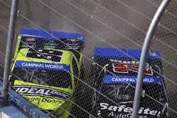 Ben Rhodes, ThorSport Racing Toyota, Matt Crafton, ThorSport Racing Toyota, crash