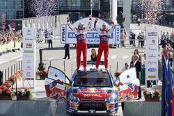 Ganadores Sébastien Loeb, Daniel Elena, Citroën C4 WRC, Citroën World Rally Team