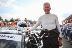 Christian Danner, BMW M1, durante el desfile de leyendas