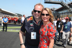 Andrew Palmer and Geri Halliwell