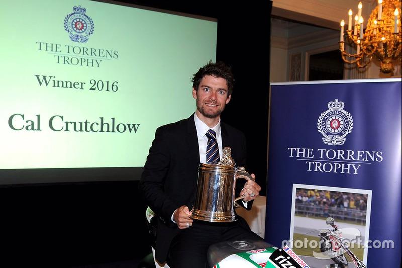 Cal Crutchlow galardonado con el trofeo Torrens 2016