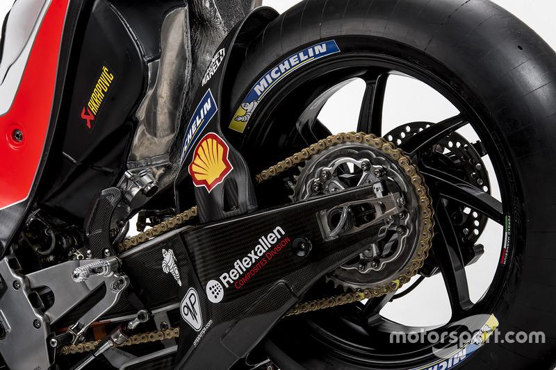 La livrée de la Ducati Desmosedici GP17