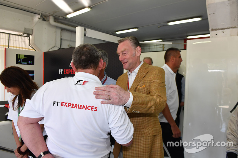 Sean Bratches, Formula One Managing Director, Commercial Operations and Paul Stoddart
