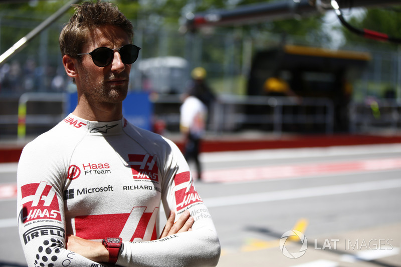 Haas – Romain Grosjean (CONFIRMADO)