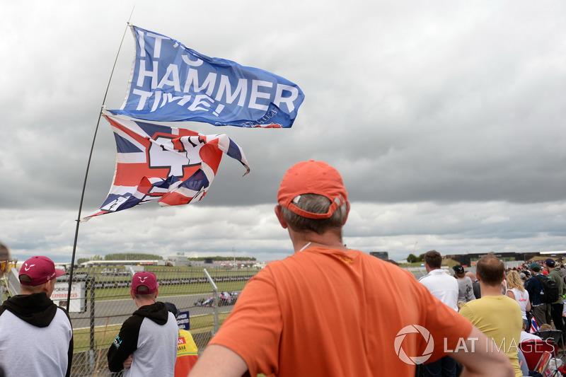 Fans de Lewis Hamilton, Mercedes AMG F1