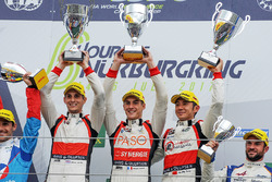 LMP2 Podium: first place Ho-Pin Tung, Oliver Jarvis, Thomas Laurent, DC Racing