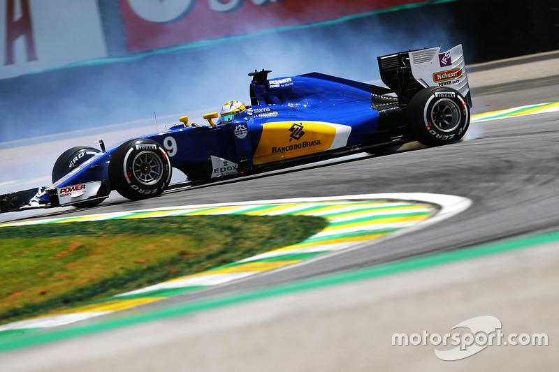20: Маркус Ерікссон, Sauber C35