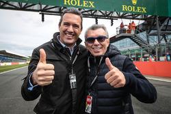 André Andrade, PDG Aegis Media Iberia, et Jaime Alguersuari Sr