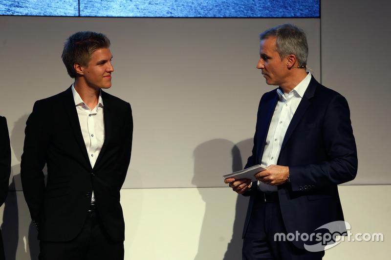 Jesse Krohn y Jens Marquardt, BMW Motorsport Director.