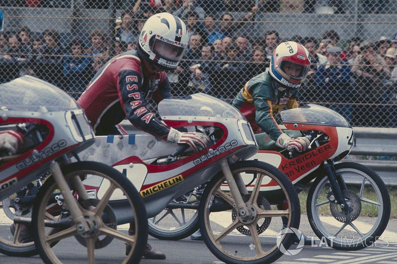 Анхель Нієто, Bultaco 50cc та Євгеніо Лаззаріні, Kreidler