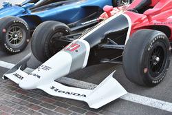 IndyCars für 2018 von Chevrolet und Honda