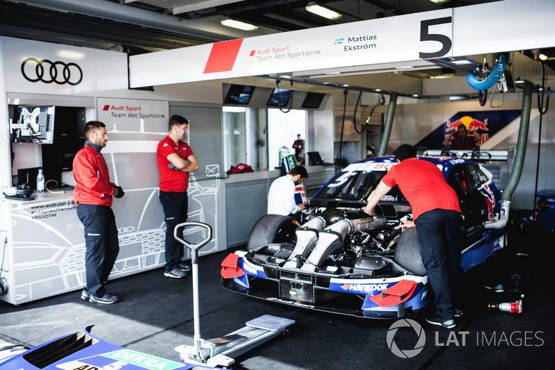 Coche de Mattias Ekström, Audi Sport Team Abt Sportsline, Audi A5 DTM
