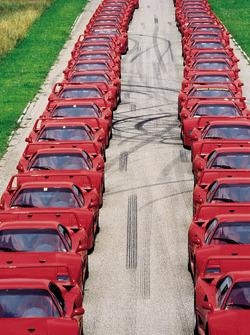 Ferrari F40, Ferrari Club Almanya etkinliği, 1992