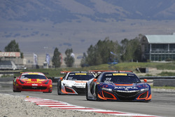 #93 RealTime Racing Acura NSX GT3: Peter Kox, Mark Wilkins, #43 RealTime Racing Acura NSX GT3: Ryan Eversley, Tom Dyer