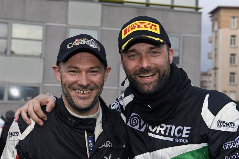 Sieger Sébastien Carron un Ivan Ballinar