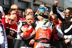 Ganador carrera Chaz Davies, Ducati Team