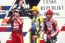 Podium: 1. Valentino Rossi, Aprilia; 2. Jorge Martinez, Aprilia; 3. Tomomi Manako, Honda