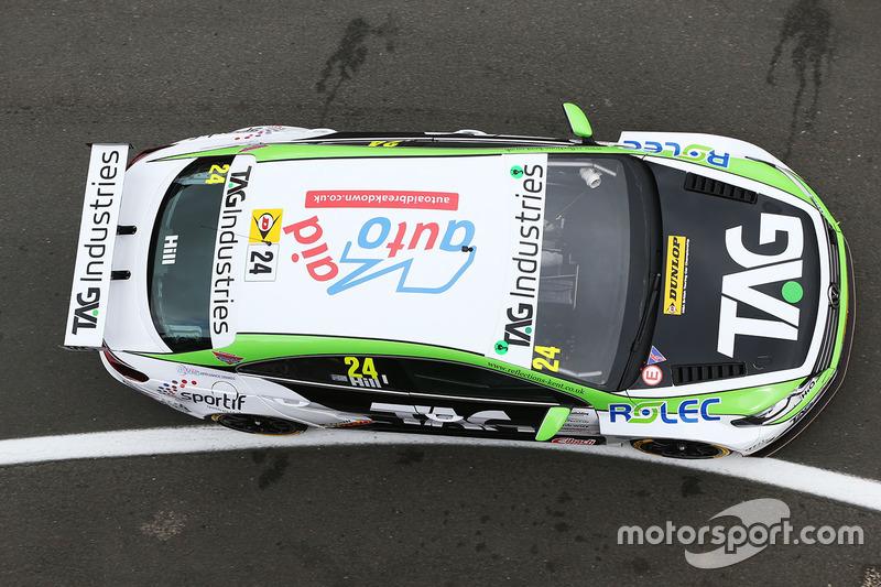 Jake Hill, TAG Racing, Volkswagen CC