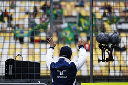 Felipe Massa, Williams, winkt den Fans