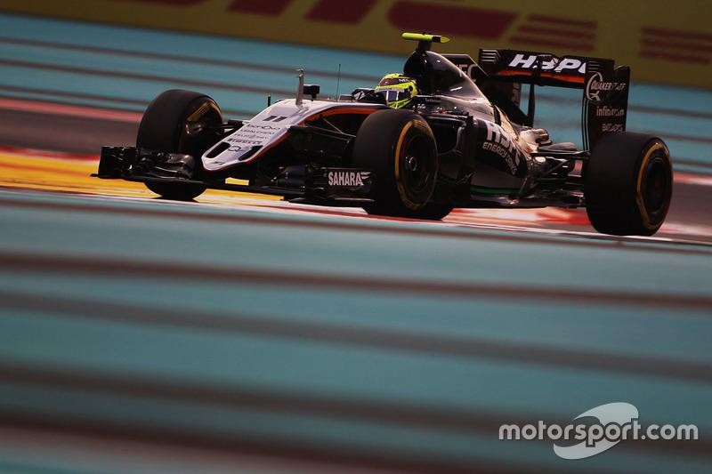 8: Sergio Perez, Sahara Force India F1 VJM09