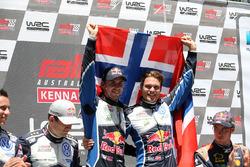 Winners Andreas Mikkelsen, Anders Jäger, Volkswagen Motorsport