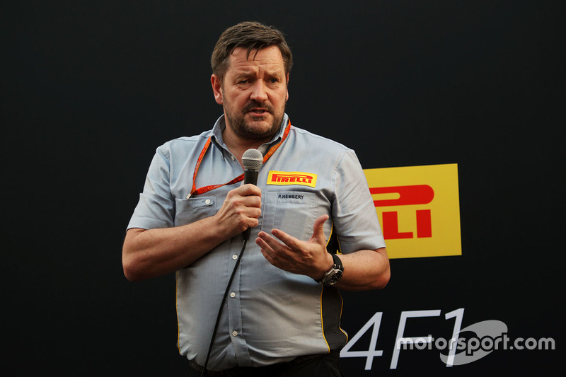 Paul Hembery, director de Pirelli Motorsport