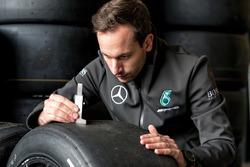 Fabien Chenin, Mercedes-AMG Motorsport DTM, tire ingeneer