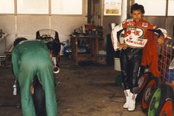 Adrien Morillas, Kawasaki Racing, vainqueur sur le Hungaroring, 1988