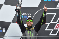 Podium: second place Jonas Folger, Monster Yamaha Tech 3