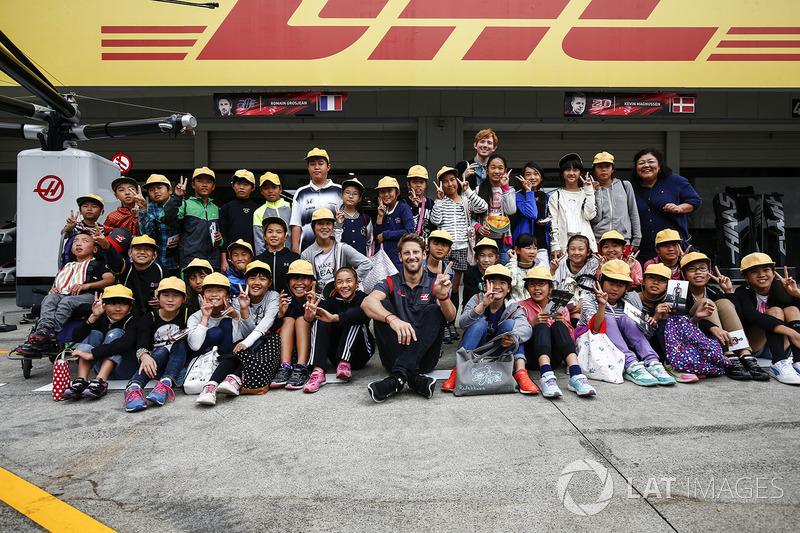 Ромен Грожан, Haas F1 Team, уболівальники