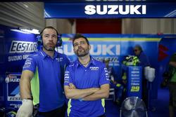 Teammitglieder: Team Suzuki MotoGP