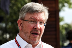 Ross Brawn, Managing Director, F1 Motor Sports