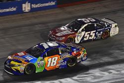 Kyle Busch, Joe Gibbs Racing Toyota, Gray Gaulding, Premium Motorsports Toyota