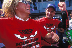 Carl and Michaela Fogarty, Ducati
