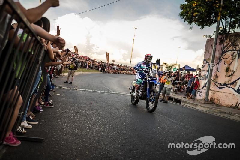 #18 Yamaha Official Rally Team: Алессандро Боттури