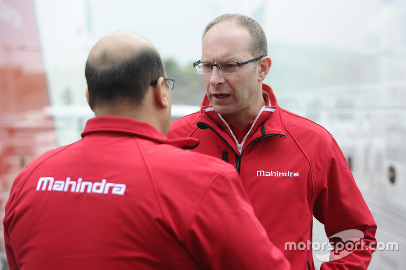 Mufaddal Choonia, Mahindra Racing SPA CEO, Davide Borghesi, Mahindra Racing Head Design and Development