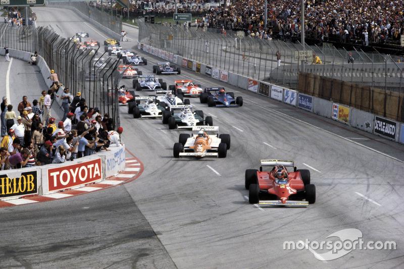 Gilles Villeneuve, Ferrari 126C líder al inicio