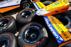 Firestone tires and front wing