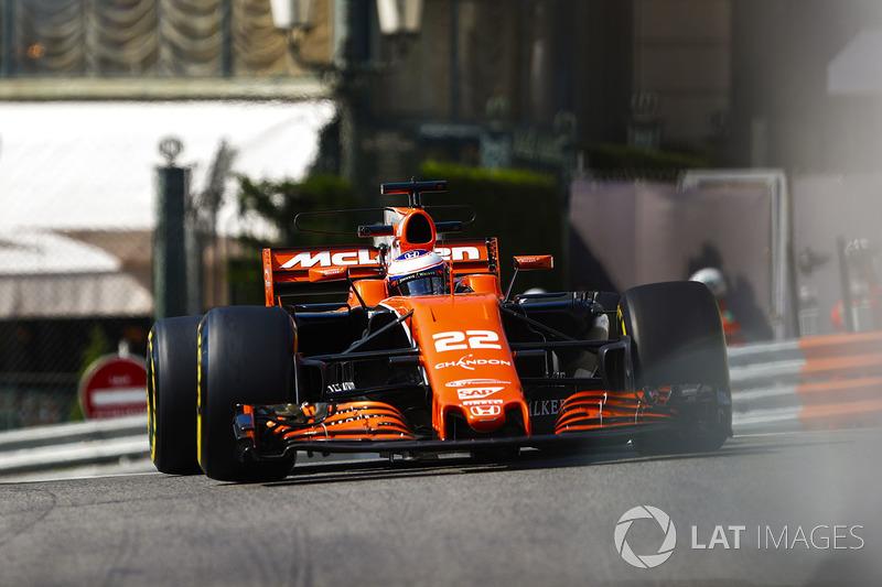 2017 - McLaren MCL32 (motor Honda)