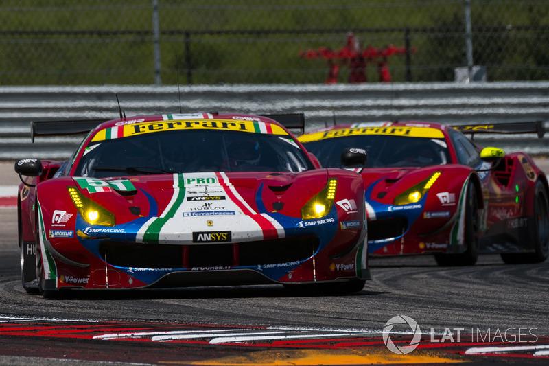 #51 AF Corse Ferrari 488 GTE: Джеймс Каладо, Алессандро П'єр Гуіді