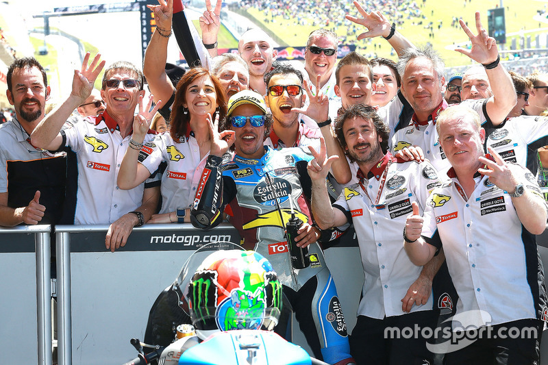 Race winner Franco Morbidelli, Marc VDS