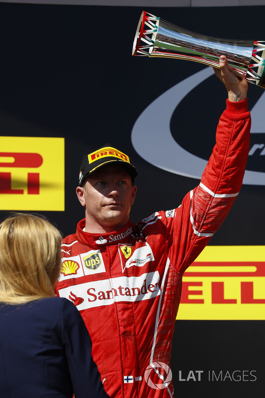 Podio: tercer lugar Valtteri Bottas, Mercedes AMG F1