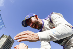 Jose Maria Lopez, DS Virgin Racing, celebrates on the podium